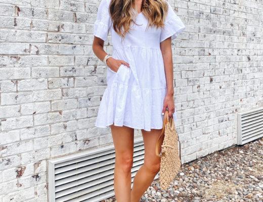 little white ruffle summer dresses on pinteresting plans fashion blog