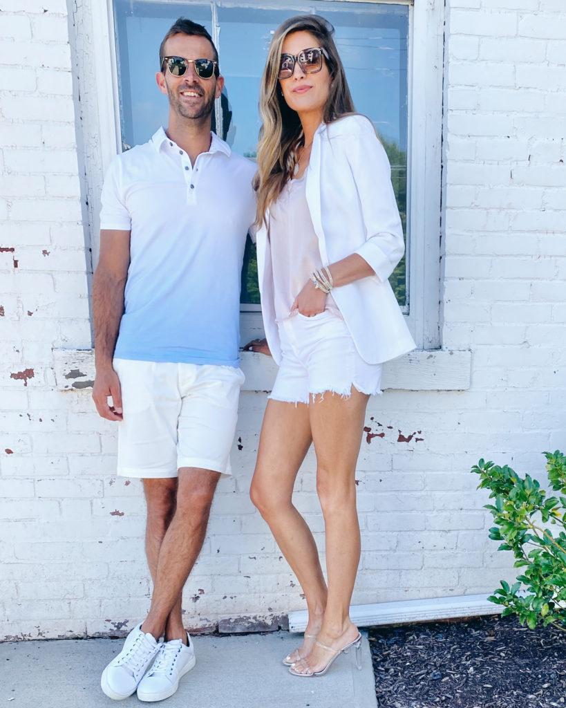 the best white shorts for men and women on pinteresting plans blog