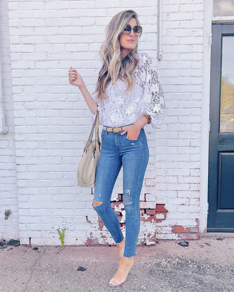 how to style white lace bodysuit with jeans on pinteresting plans fashion blog