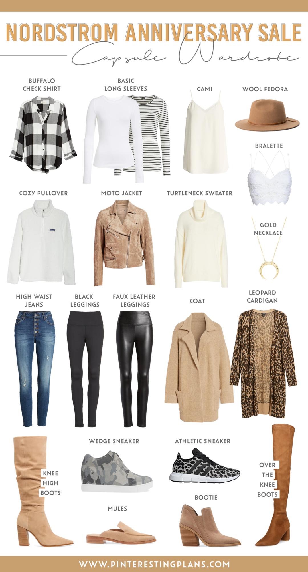 nordstrom anniversary sale fall capsule wardrobe 2020 on pinteresting plans fashion blog
