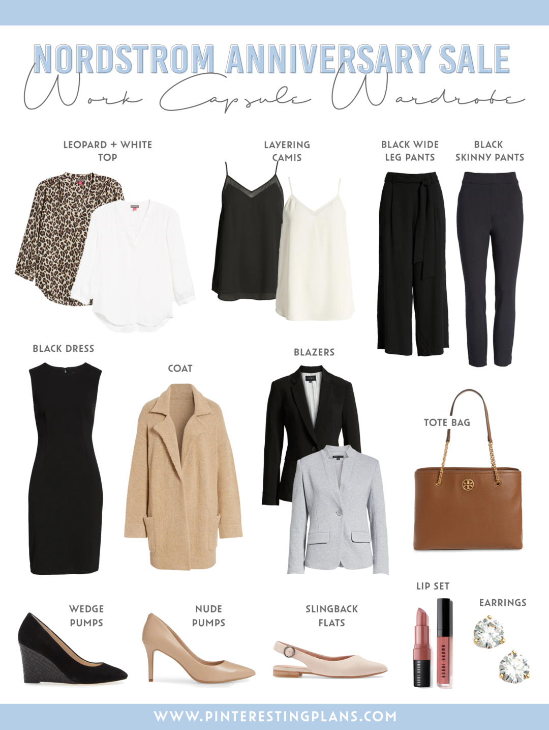 nordstrom anniversary sale 2020 fall work business casual capsule wardrobe 2020 on pinteresting plans fashion blog