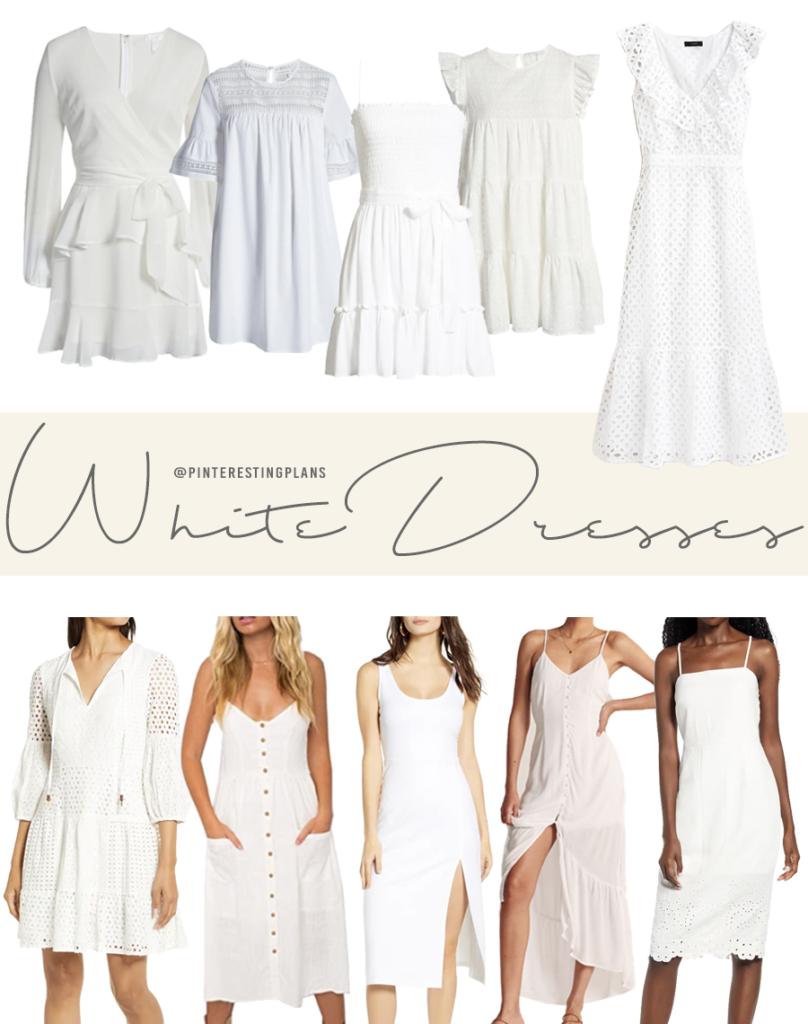 best little white dresses for summer 2020 on pinteresting plans fashion blog