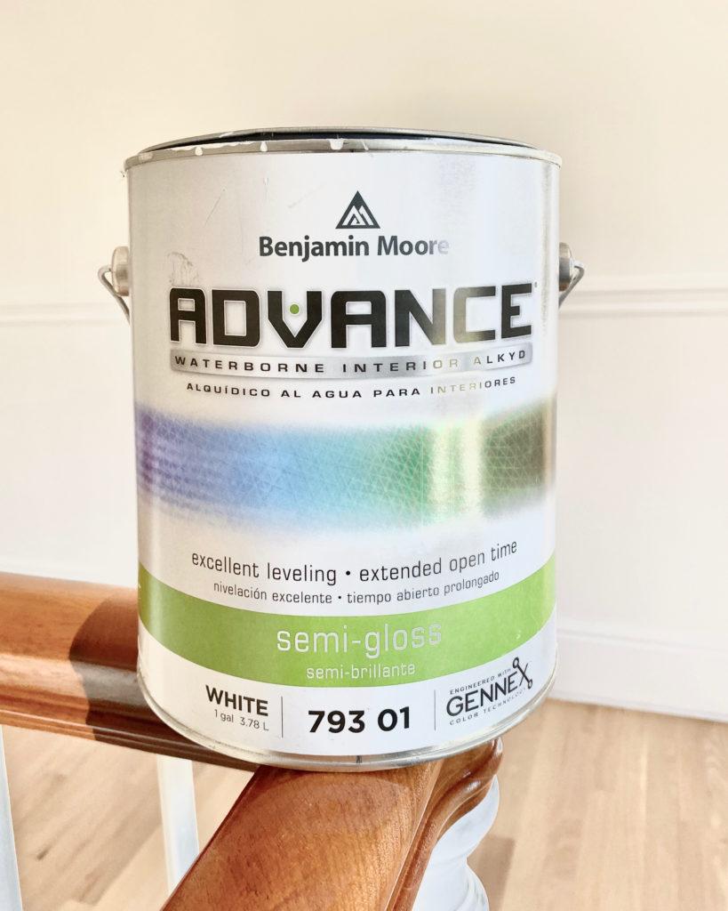 benjanmin Moore trim paint color - pinteresting plans blog
