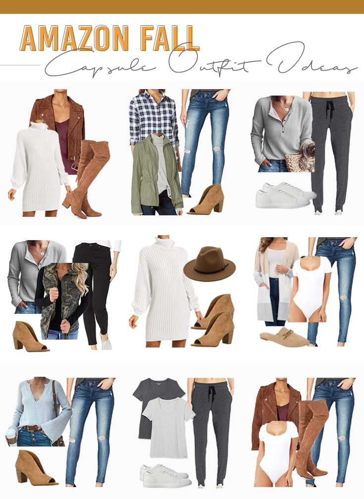 amazon fall 2020 capsule wardrobe outfit ideas on pinteresting plans fashion blog