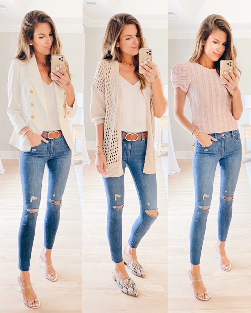 3 cute fall ripped jeans outfit ideas on pinteresting plans fashion blog
