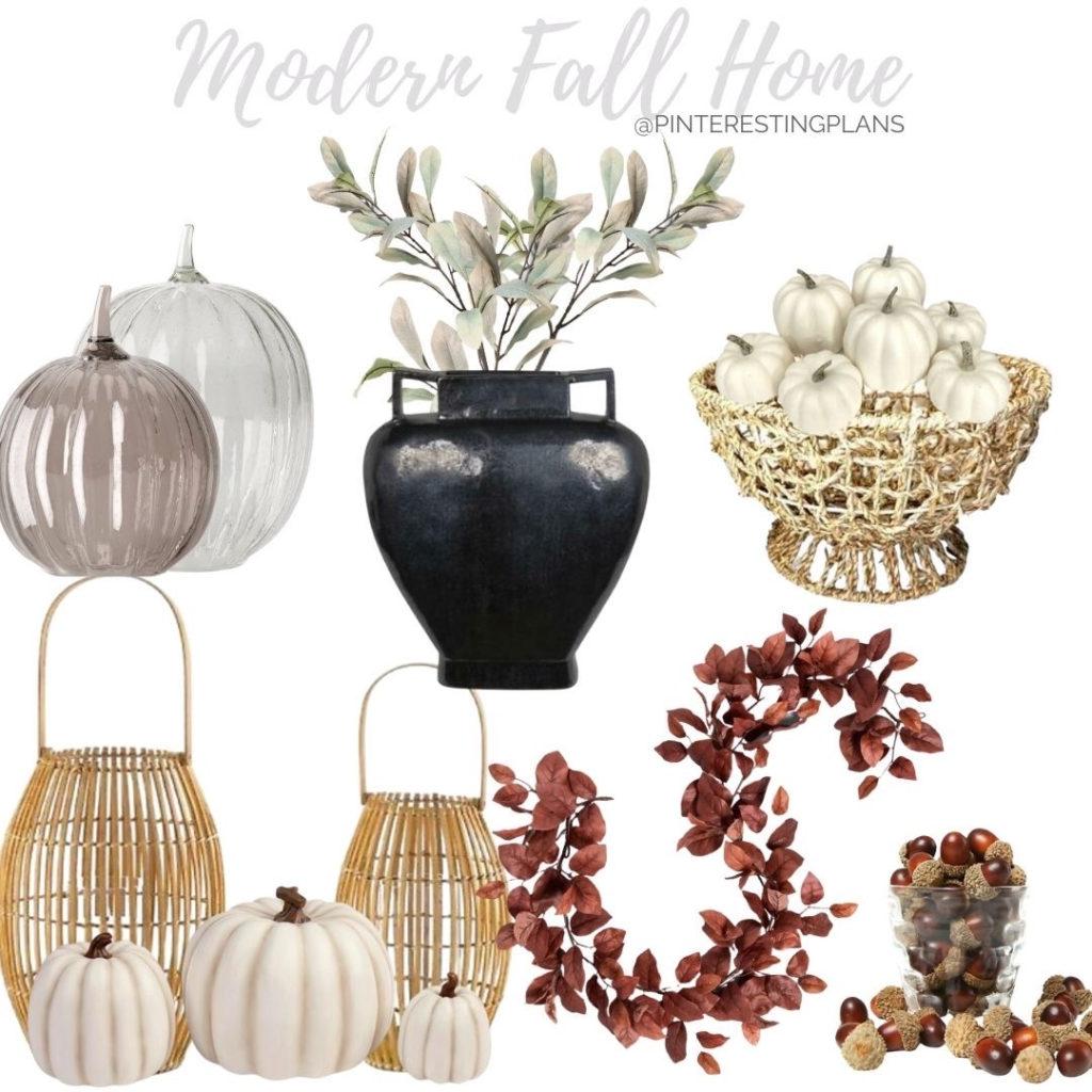 modern fall home decor finds on pinteresting plans blog