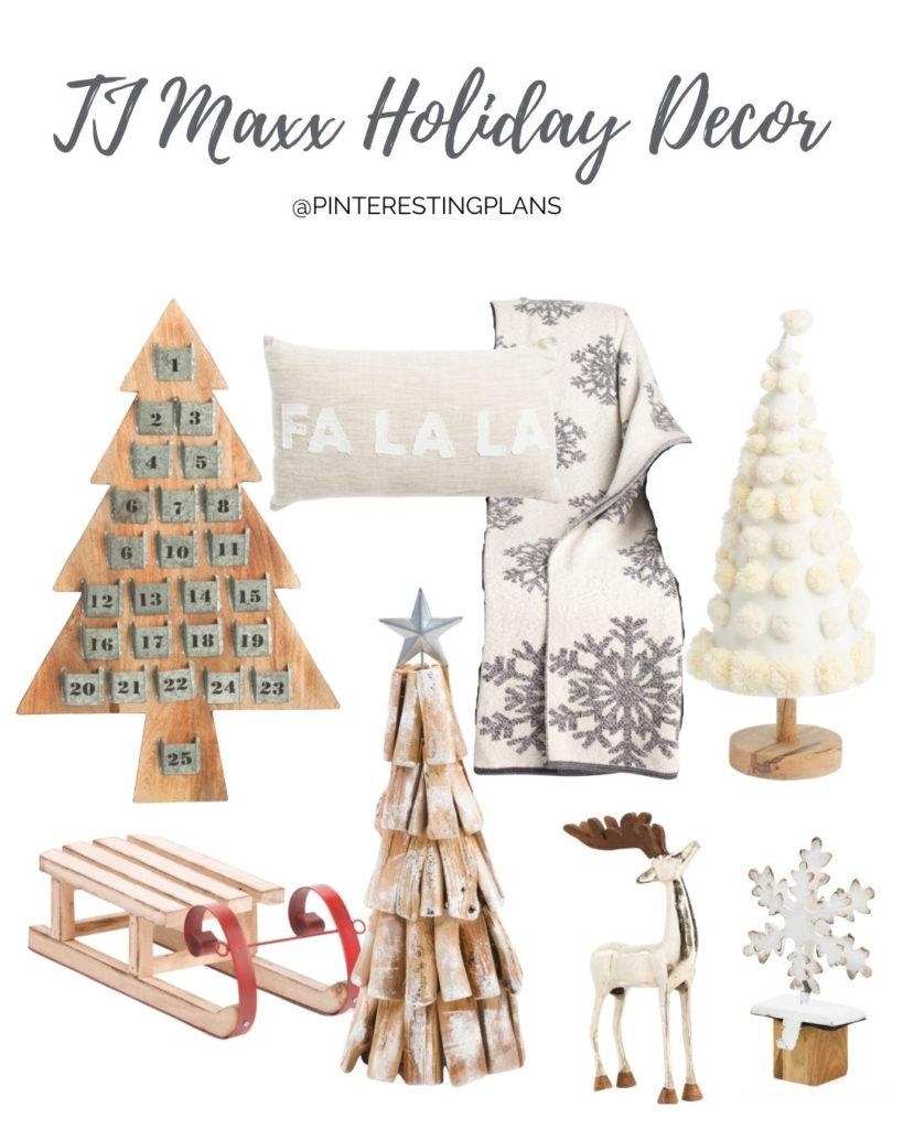 TJ MAXX holiday decor round up