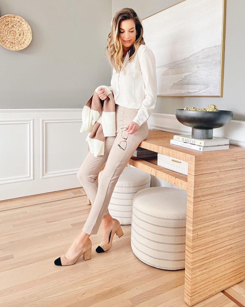 late winter workwear 2021 - on trend workwear on pinteresting plans fashion blog