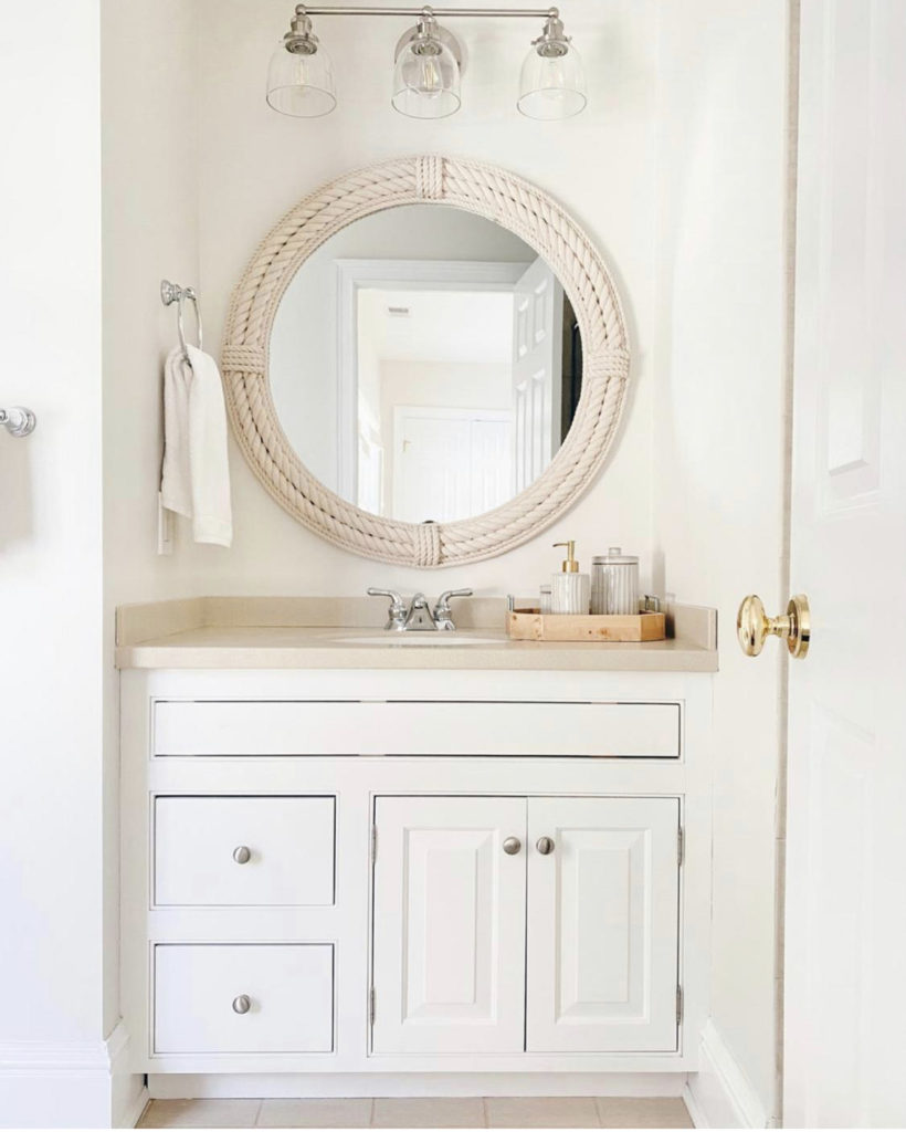 easy bathroom before and after bathrom renovation coastal modern style