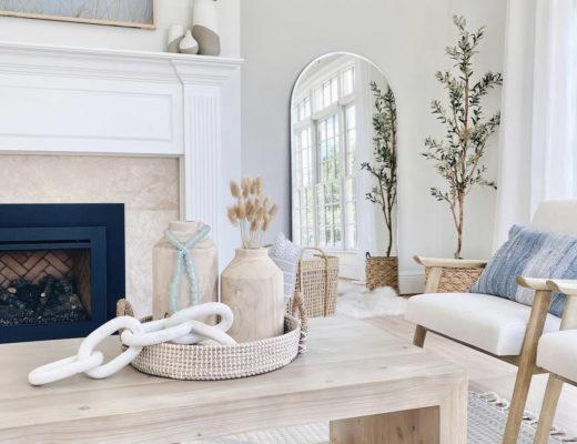 modern traditional living room interior design