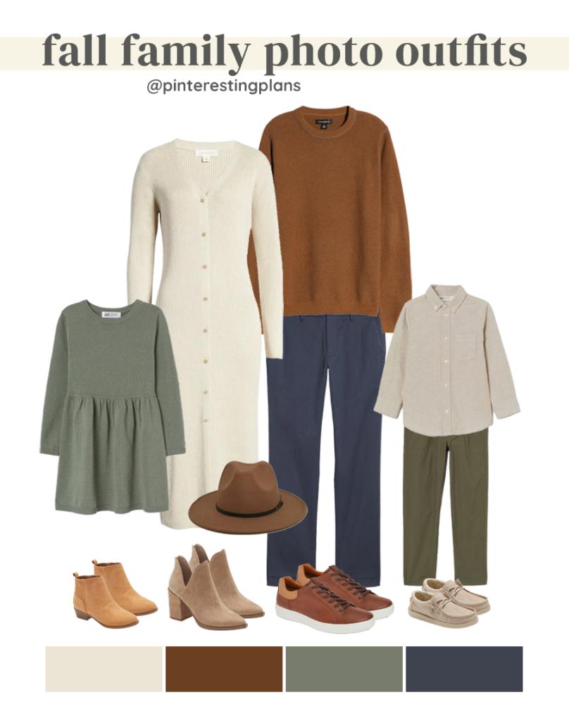 fall family photo outfit idea 2021