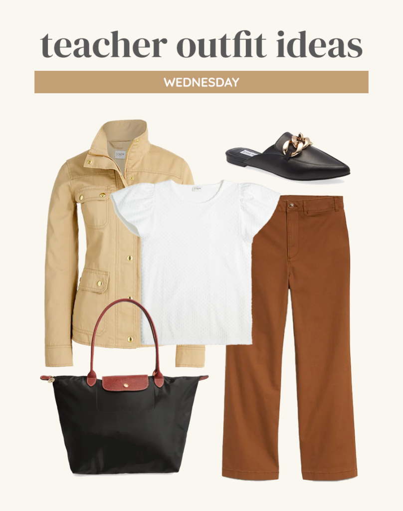 business casual teacher outfit ideas for fall 2021